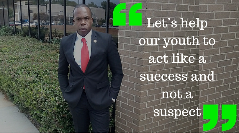 Act like a success and not a suspect
